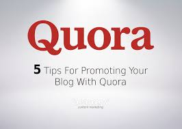 13 Quora Answer with your keywords & url
