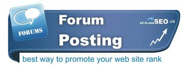 Offer 50 genuine posts on your forum