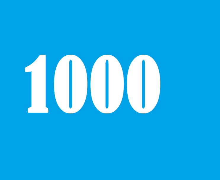 1000 Audience to your social media profile