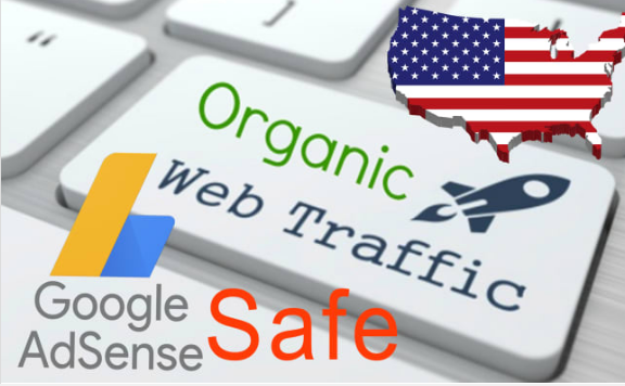 keyword target organic website traffic from usa adsense safe, high duration and low bounce rate