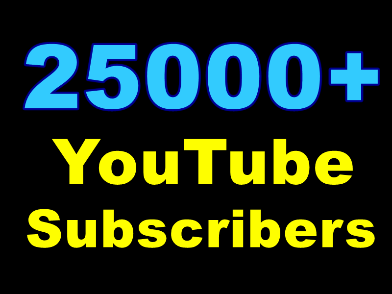 Wonderful Quick 25000+ Awfully High-Quality Non-Drop Subscribers
