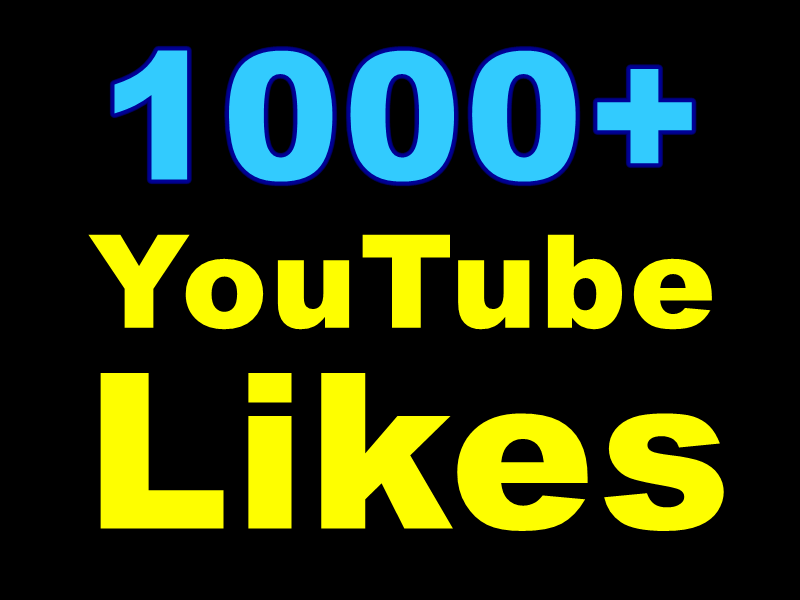 Add Very Good Real 500+ YouTube Likes Within 48-72 Hours