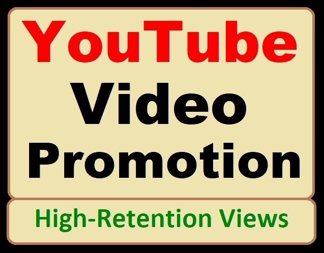 High-quality YouTube Video Marketing and Social Media Promotion basic