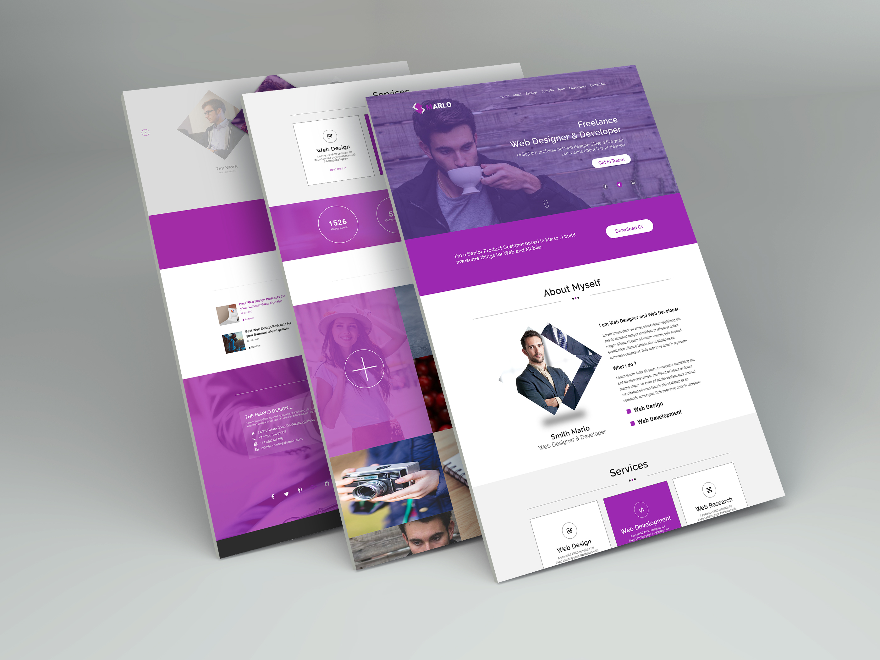 Portfolio and Business Webpage Design