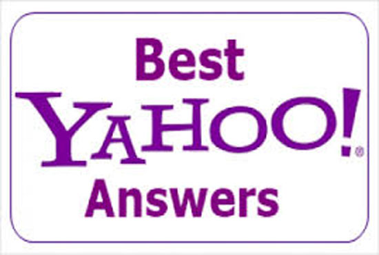 Promote your Website in 10 Yahoo Answers with Live URL
