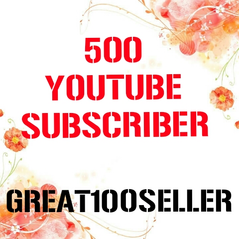 500 You Tube Subscribe nondrop fast delivery
