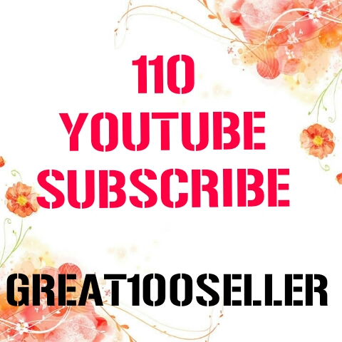 110 You Tube Subscribe nondrop fast delivery