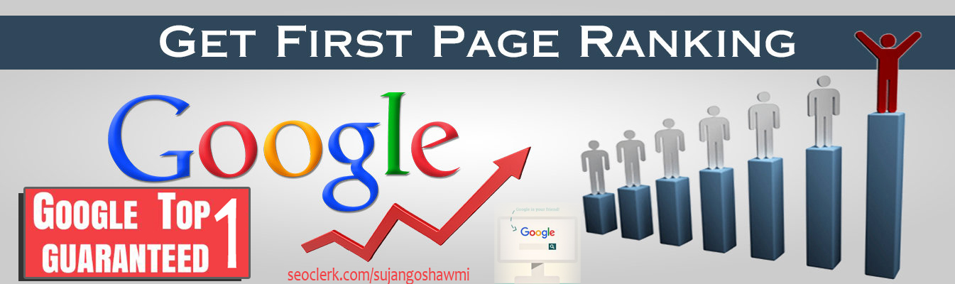 Guaranteed 1st page Google Rank Service Full SEO your site