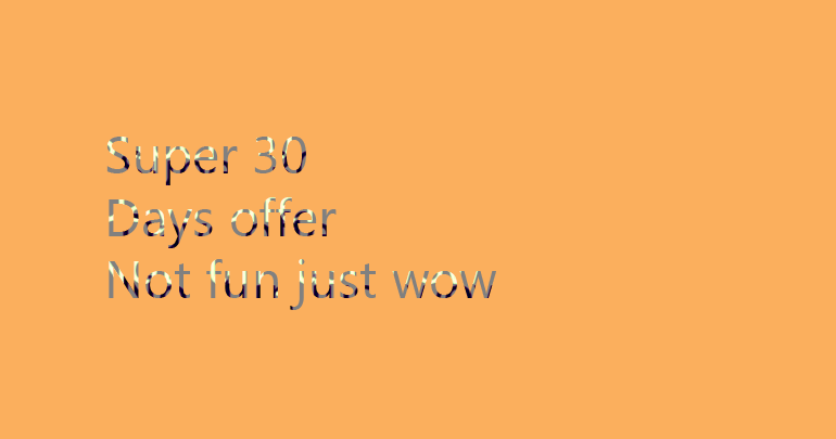 Super 30 days offer!!.Rank  your website Google's 1st page .JUST WOW