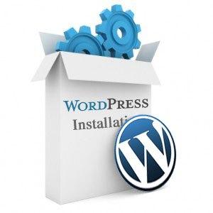 Website set up wordpress install and configure