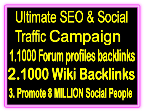 Top Popular SEO & SMM Package on SeoClerks- 1000 ...