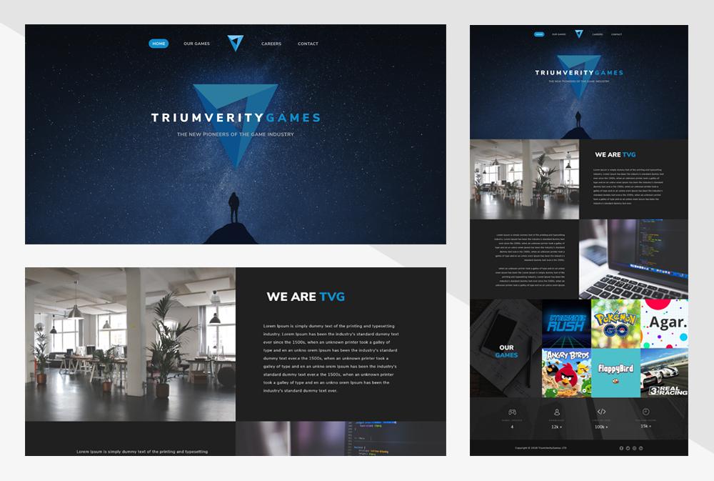Bespoke Landing Page Design