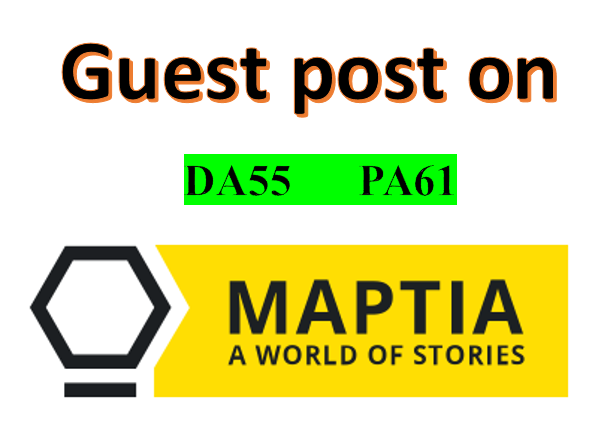 Publish a guest post on Maptia.com - Maptia.com - DA55, PA61