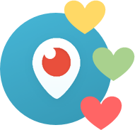 500 000 Periscope hearts