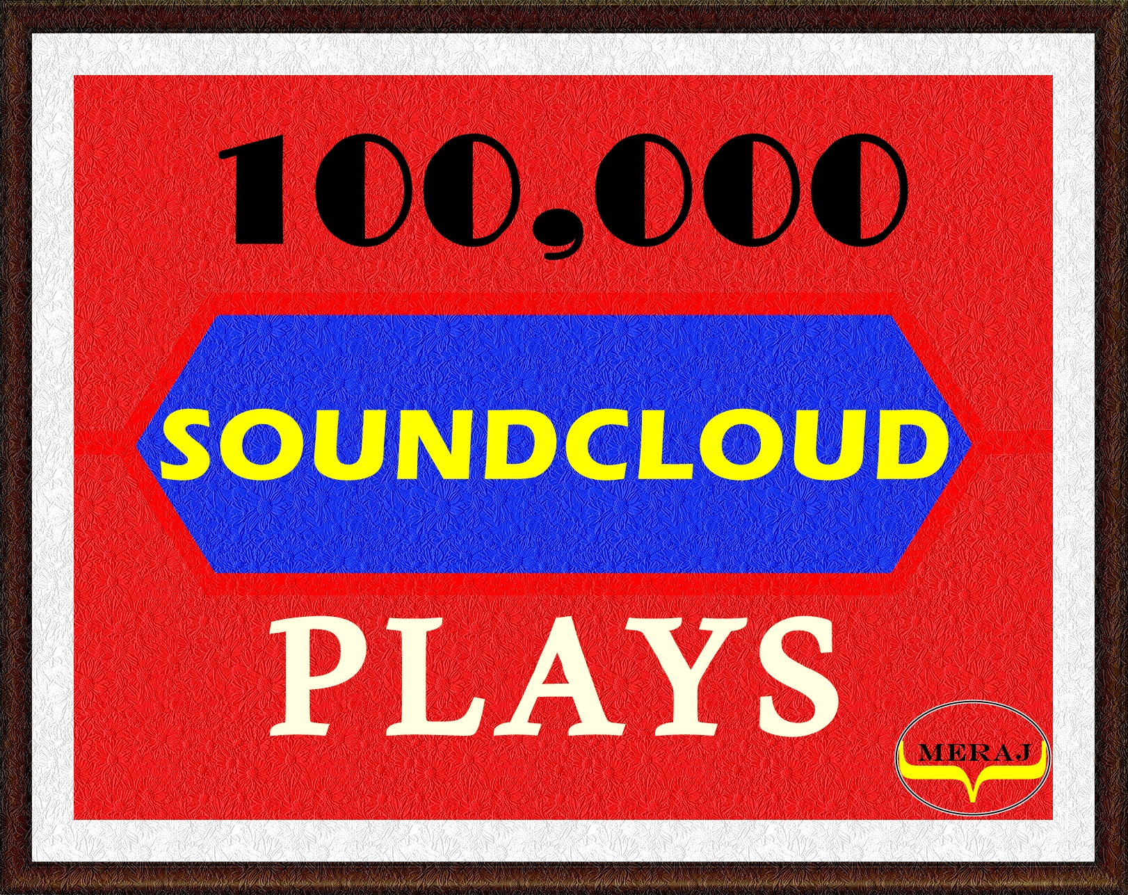 100K Soundcloud Plays to Your Song