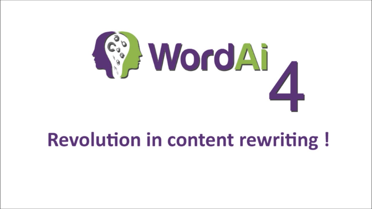Rewrite your article with my Wordai premium account