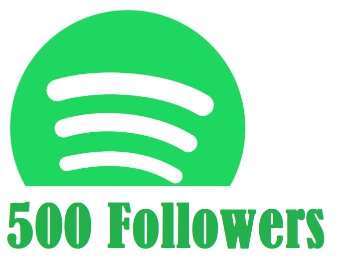 500 Spotify High Quality Followers