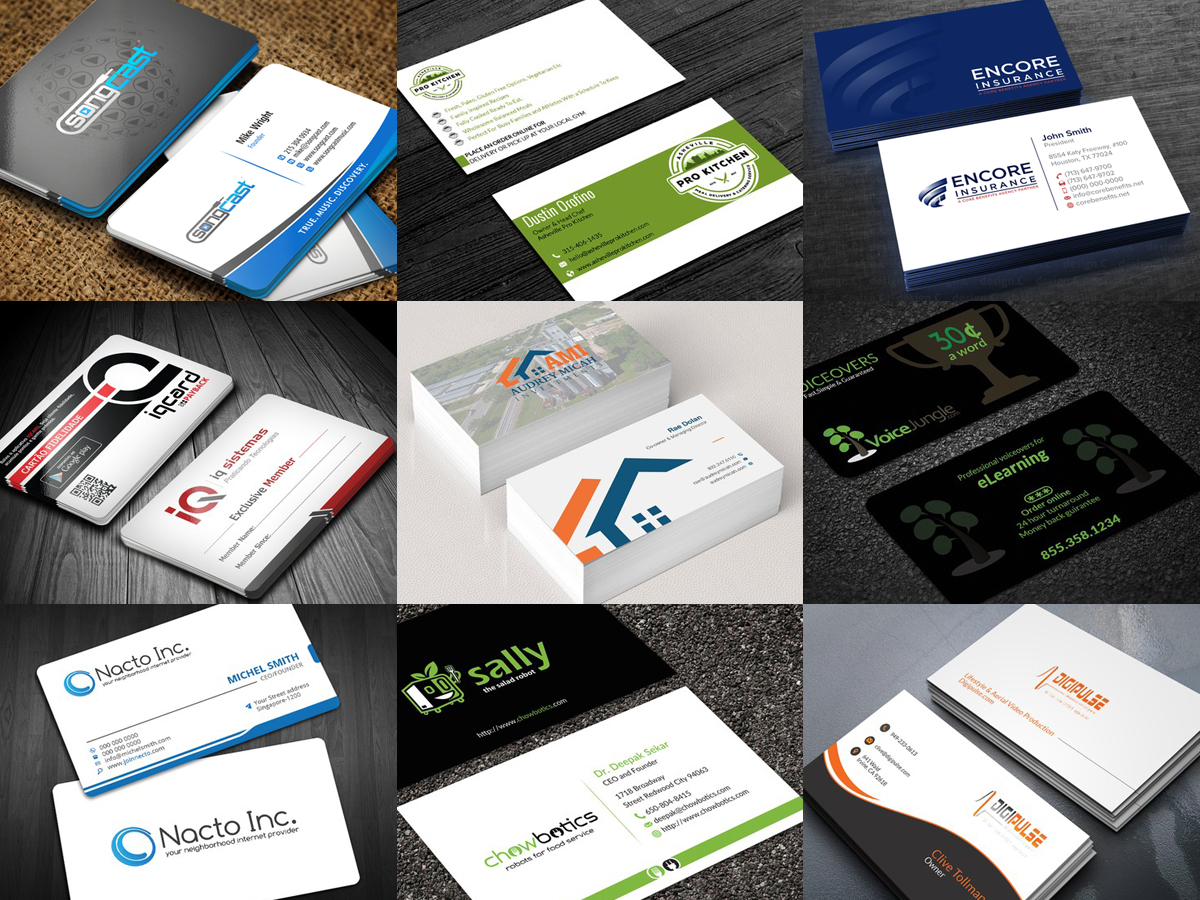 Design Professional Business Card Within 24 Hrs