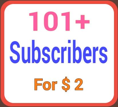 Supper fast 101+ channel subcriber non-drop