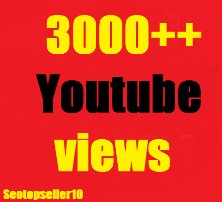 5000 YouTube views+500 likes +20 custom comment fast and safe just