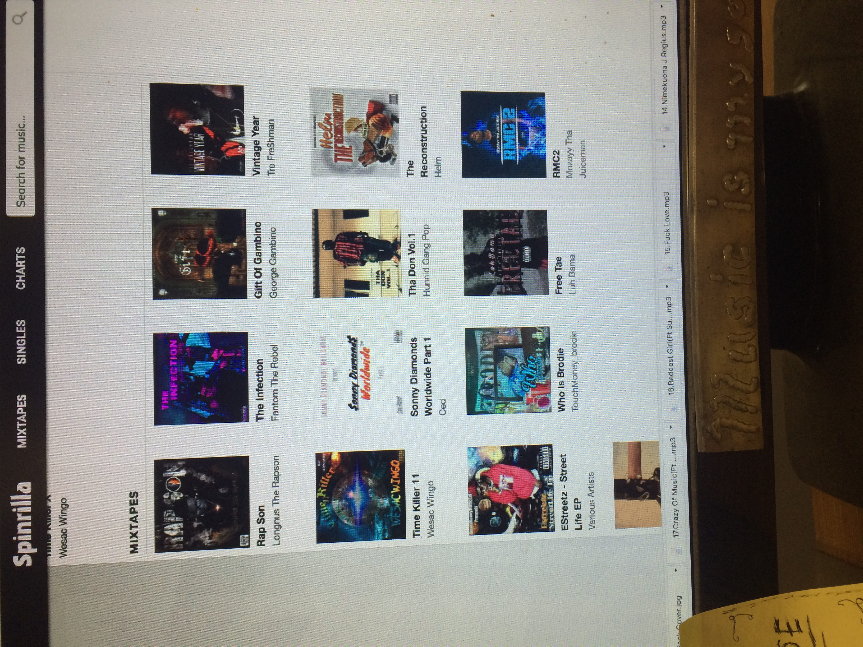 Spinrilla And Mymixtapez Upload With Promo