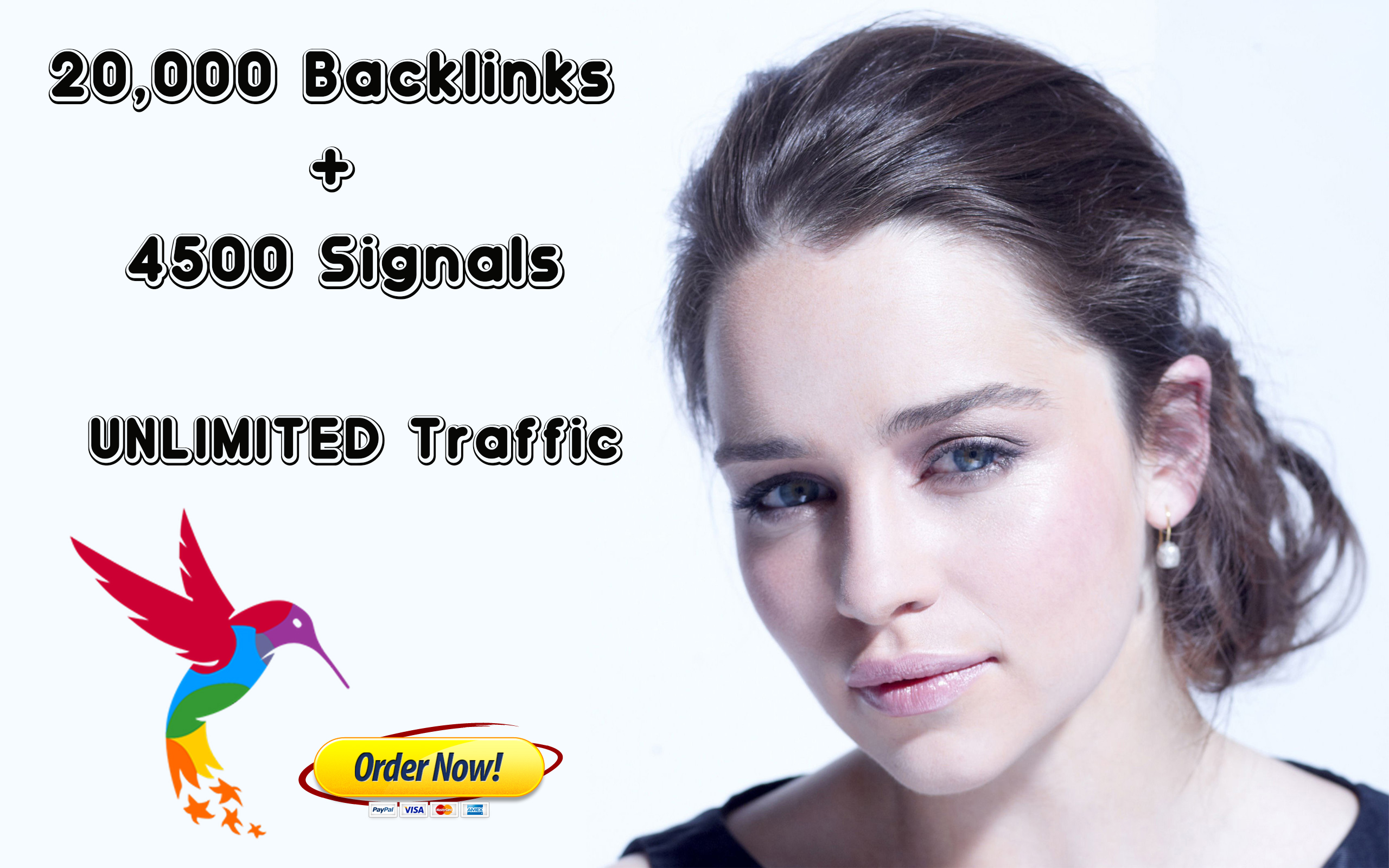 RANK IN THE TOP 10 - 20,000 Backlinks 4500 Signals - UNLIMITED Traffic - Bookmarks with 100 Different Engines on Social Media included - 10,000+ orders completed - LINKBEAST SEO