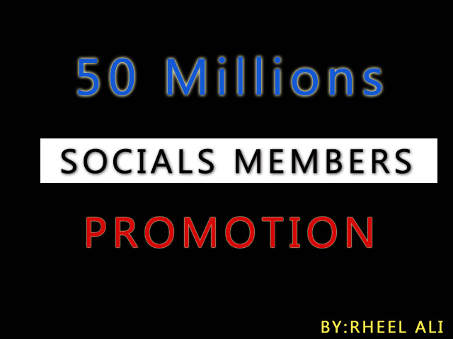 50 Million Social Media Group/Communities Marketing Advertising promote your link