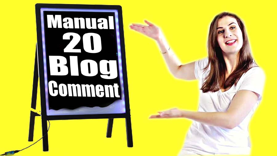 Create Manually provide you 20 Backlinks for buffer site