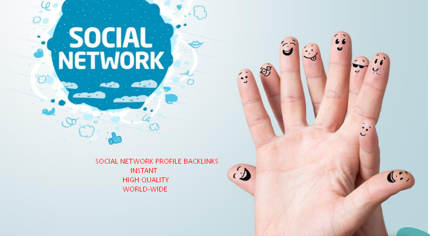 1000+ Social network profile back-links