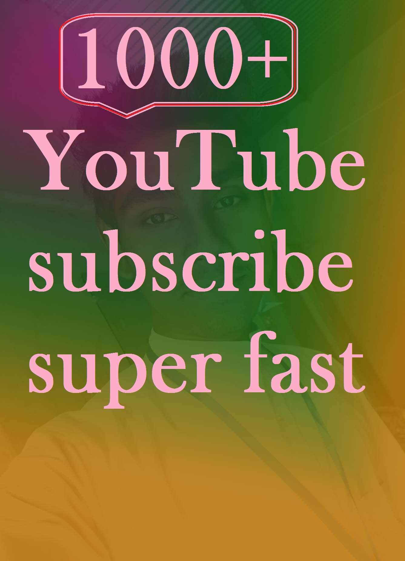 instant start 1000+ subscribe super fast delivery