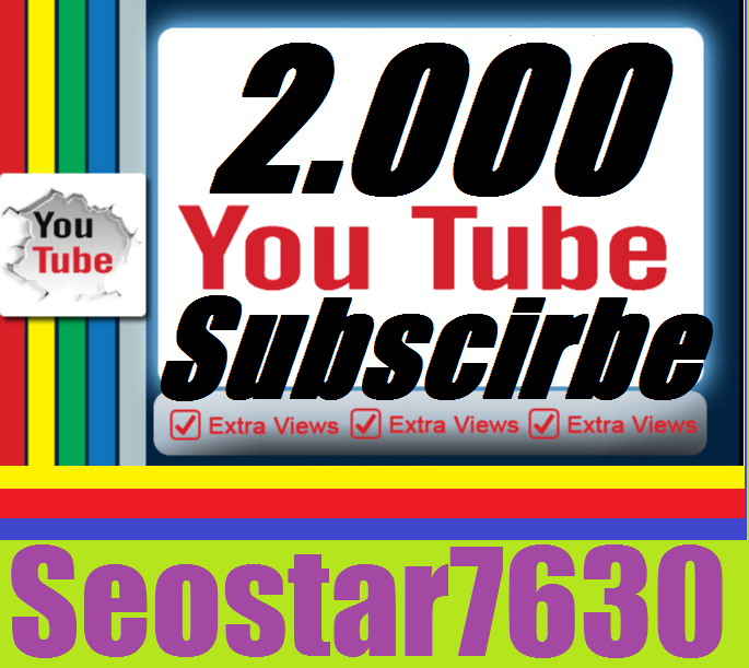 Safe 2.000 You-Tube Sebs-criber  Your Channel Add Very Fast