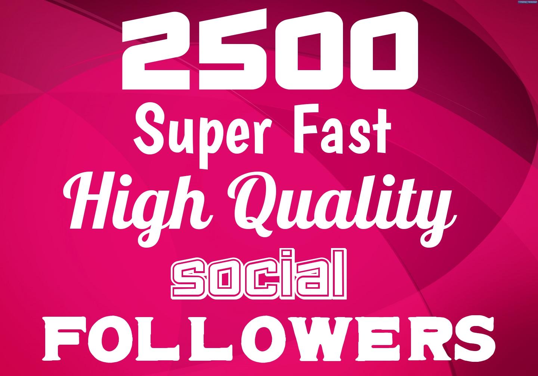 Add Fast 2500+ HIGH QUALITY Profile Followers