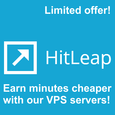 Run your 2 Hitleap sessions on our VPS Servers 7x24 for 30 Days 2018