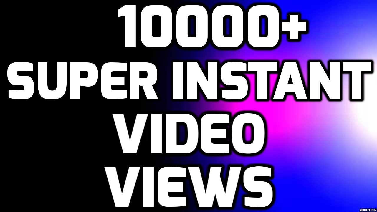 Add Fast 10000+ HIGH QUALITY Views NON DROP SOCIAL MEDIA POST