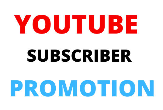 Non Drop High Quality Manual YouTube Promotion And Social Media Marketing