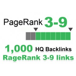 Rank #1 in Google Search with 1000 HQ BackLinks (Do Follow)