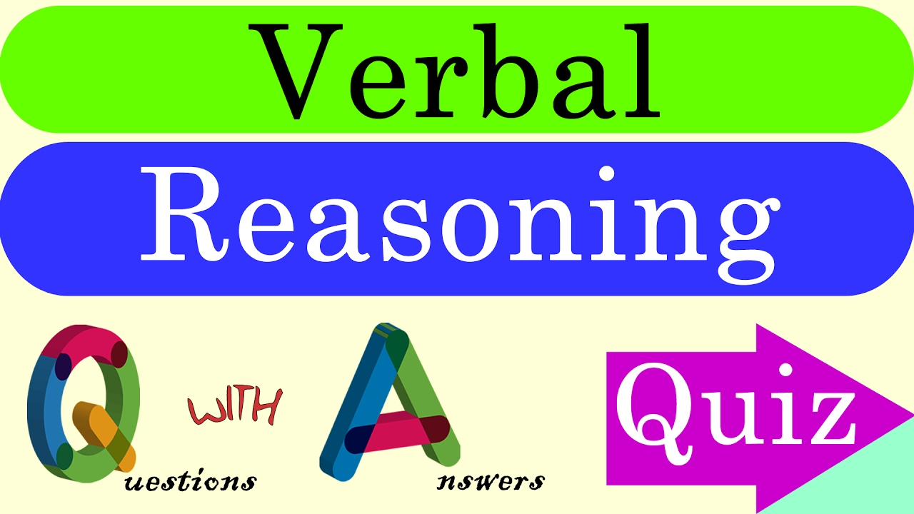 Verbal Reasoning questions with diagrams
