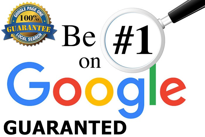 Guaranteed Google 1st page ranking service