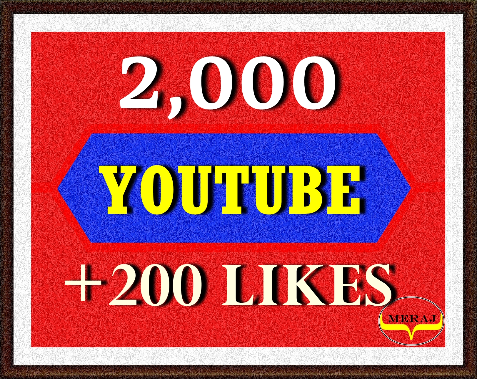 2,000 High Retention Youtube Views+ 200 Likes