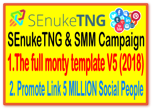 SEnukeTNG & SMM Campaign- The full monty template...