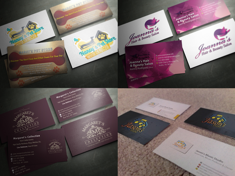 Professional And Quality Business Cards Design