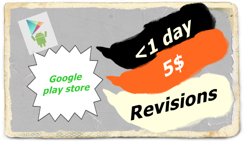 publish your app at google play store within 3 hours,  unlimited revisions.