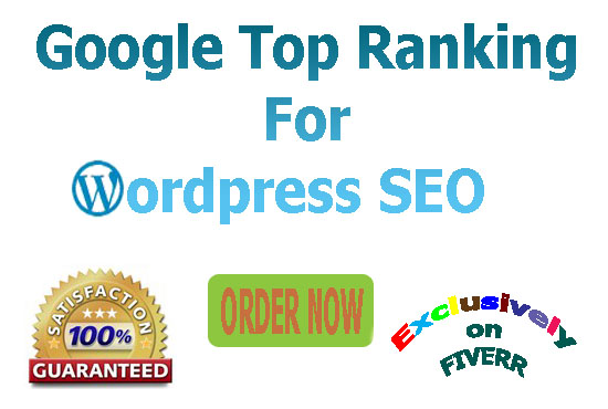 Boost your WordPress or Blog site google 1st page ranking guarantee-Update 2018 SEO package