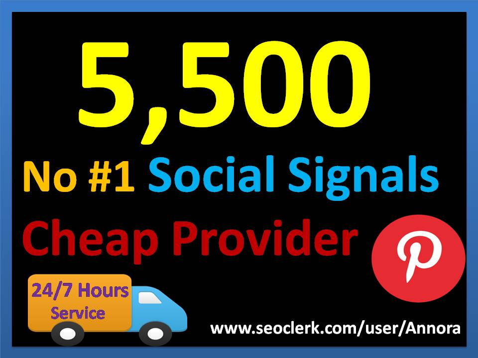 5,500 Pinterest LifeTime USA social Signals for Cpa Affiliate Marketing & Business Promotion benefit To boost SEO site Traffic & Shares Bookmarking Backlink Most imperative Google Ranking influence