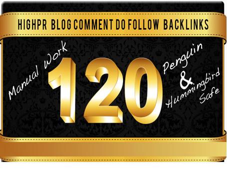 Do 120, Dofollow, Backlinks For SEO
