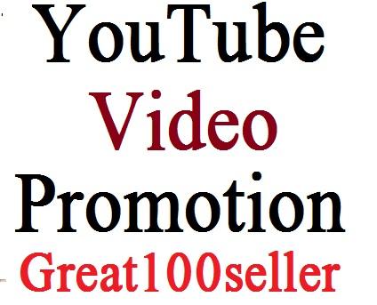 Super offer YouTube Video Promotion Social Media Marketing Instant start