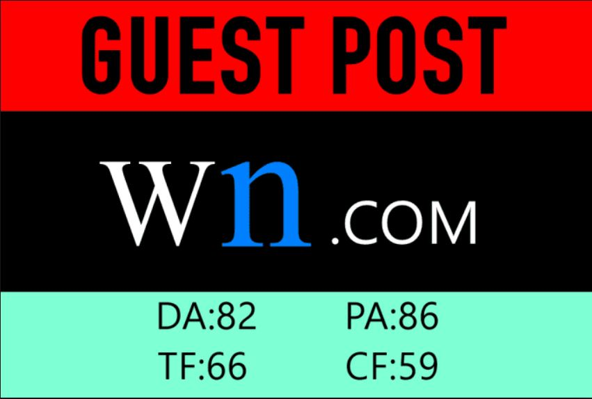 Write and Publish A Guest Post On WN.com