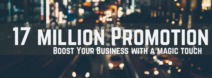 Over 17 million promotion to your website or link or product