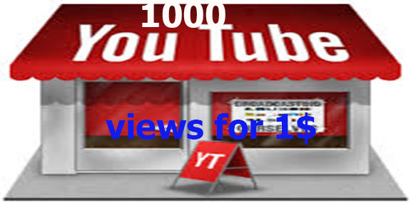 10,000 vi-ews to your YouTube video Fast delivery