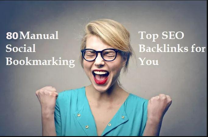 Provide 150+ Manual Social Bookmarking Backlinks